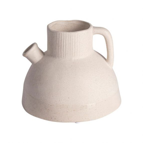 Vaas wit met Handvat