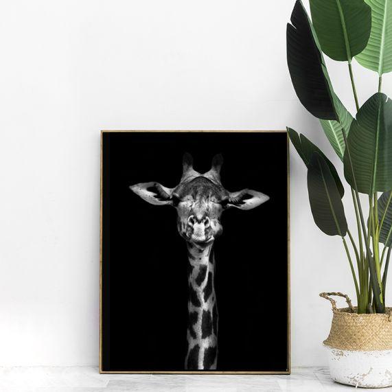 interieur poster giraf
