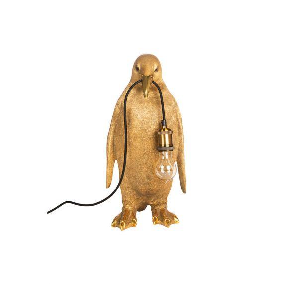 Pinguin Lamp - Goud