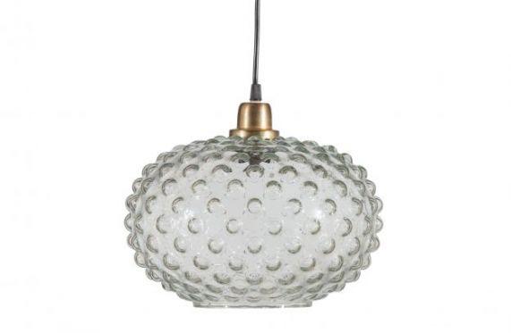 Soap Hanglamp Glas Transparant