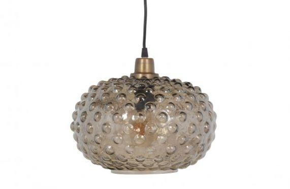 Soap Hanglamp Glas warm groen
