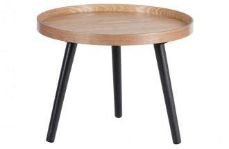 Mesa bijzettafel M  hout naturel 45XØ45
