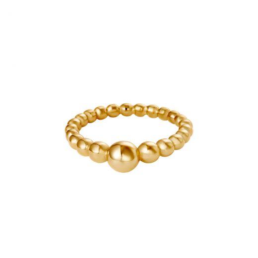 Ring Steel Pearls