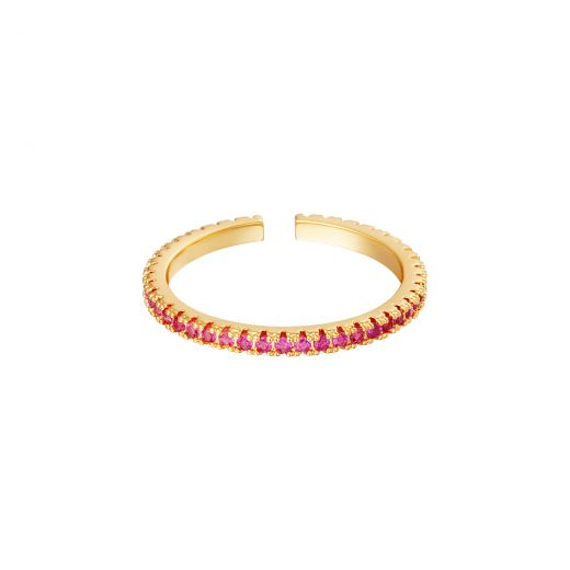 Ring Little Stones Pink