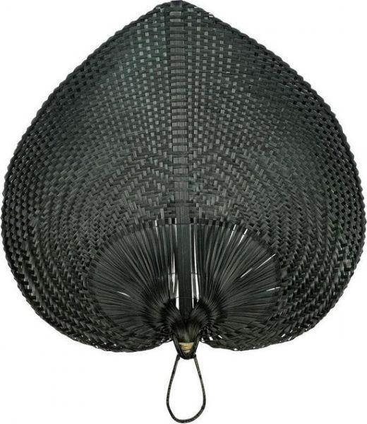 Homefurn Bamboe waaier zwart