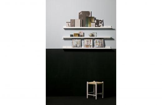 Studio fotolijstplank 120cm mdf wit