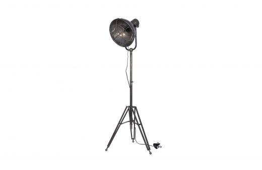 Spotlight staande lamp metaal