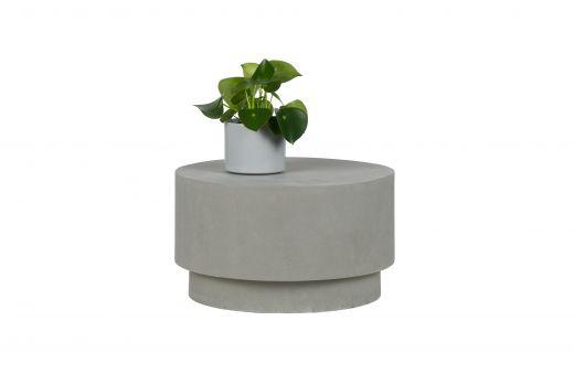 Dean salontafel medium betonlook grijs 34xØ60