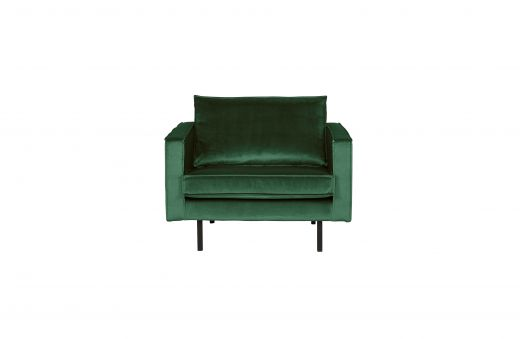 Rodeo fauteuil velvet green forest