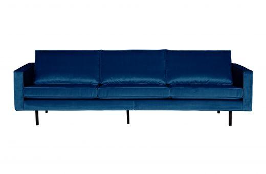 Rodeo bank 3-zits velvet dark blue nightshade