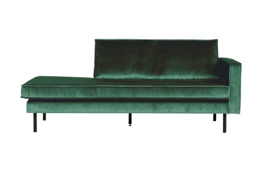 Rodeo daybed right velvet green forest