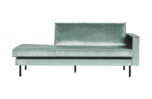 Rodeo daybed right velvet mint