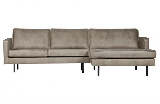 Rodeo chaise longue rechts elephant skin