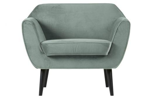 Rocco fauteuil fluweel mint