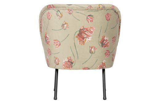 Vogue fauteuil fluweel rococo agave