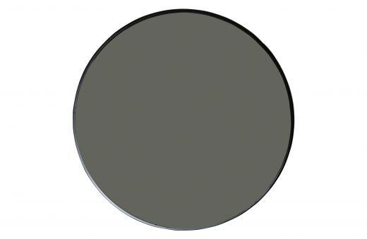 Doutzen spiegel metaal zwart Ø115cm