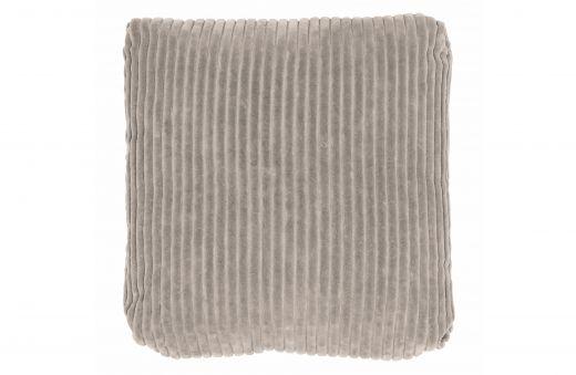 Edge kussen fluweel khaki 45x45