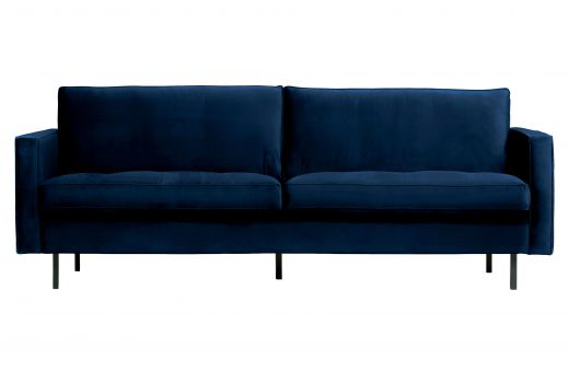 Rodeo classic bank 2,5-zits velvet dark blue nightshade