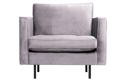 Rodeo classic fauteuil velvet lichtgrijs