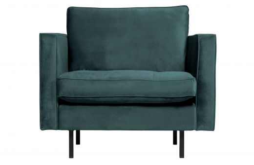 Rodeo classic fauteuil velvet teal