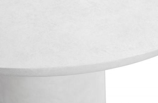 Damon eettafel betonlook wit 76xØ100