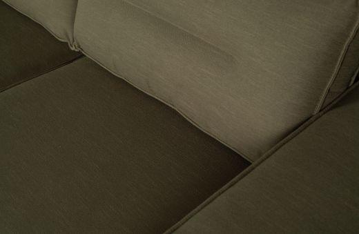 Randy chaise longue links groen