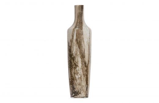 Saffier vaas glas 49xØ12cm