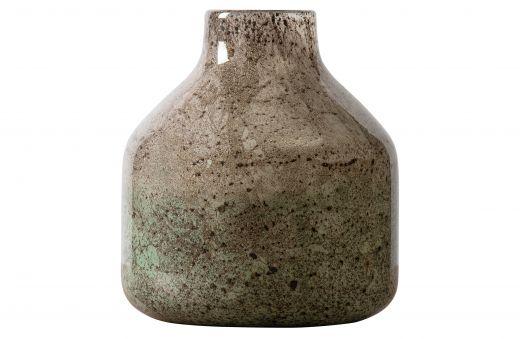 Topaas vaas glas 23xØ21cm