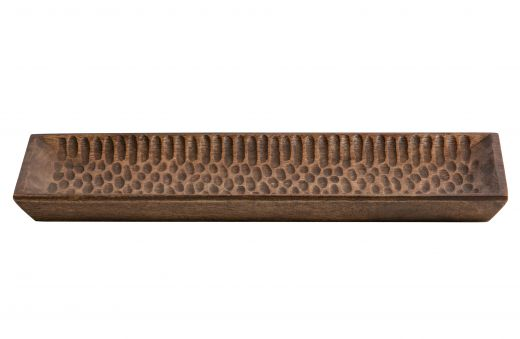 Devan dienblad hout bruin 35x15cm