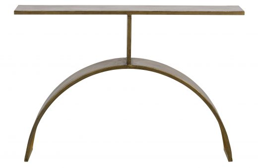 Altar sidetable metaal antique brass