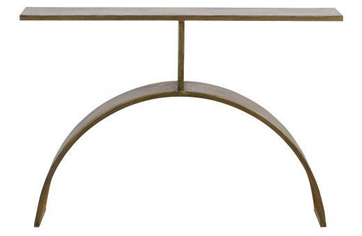 Altar sidetable metaal antique brass