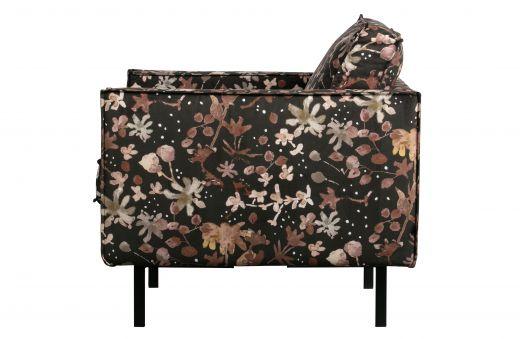 Rodeo fauteuil aquarel flower chestnut