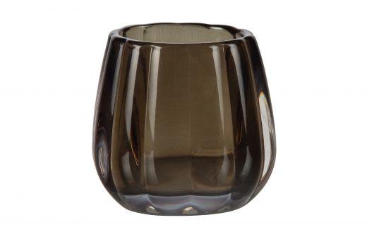 Diamond waxinehouder glas 8xØ8 assorti spring 2021