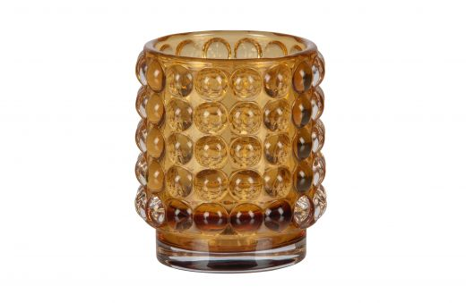 Bumble waxinehouder glas 8xØ7 assorti spring 2021