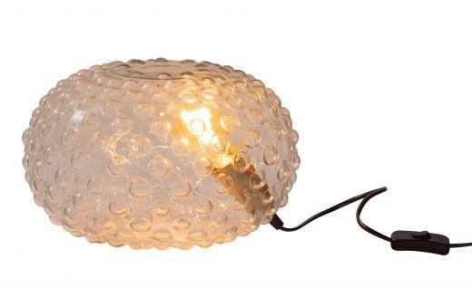 Soap tafellamp glas transparant