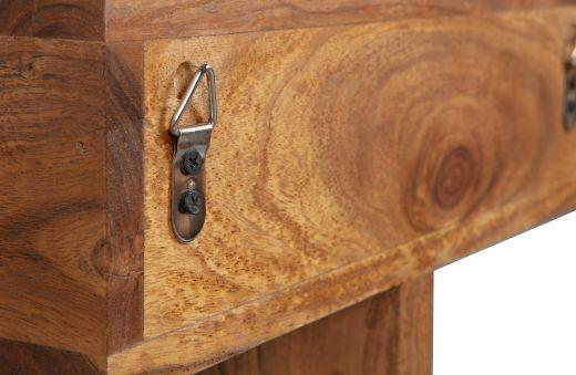 Boudoir wandkast hout bruin