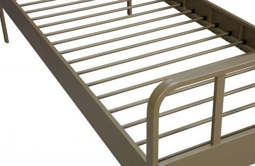 Mees bed metaal army 90x200 cm