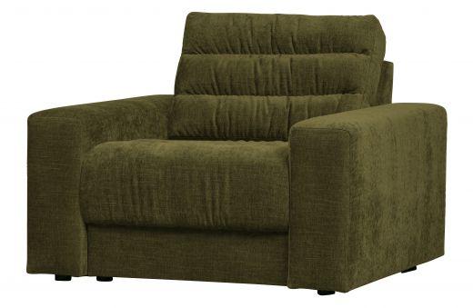 Date fauteuil vintage groen