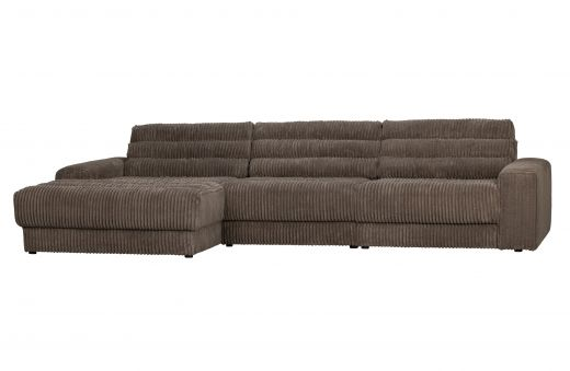 Date chaise longue links grove ribstof mud