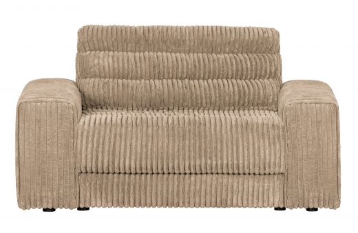 Date loveseat grove ribstof travertin