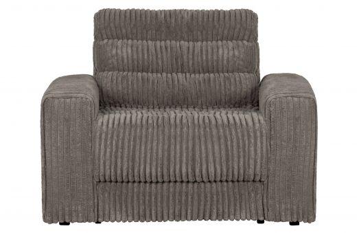 Date fauteuil grove ribstof terrazzo