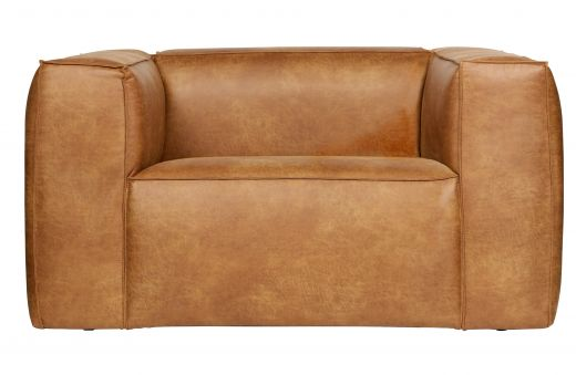 Bean fauteuil cognac