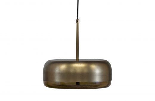 Safa hanglamp horizontaal metaal glas brass