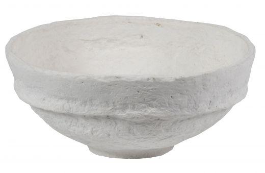 Set v 3 - argos schalen paper mache off white