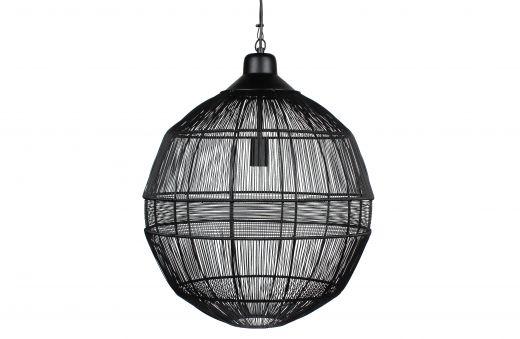 Enes hanglamp metaal zwart