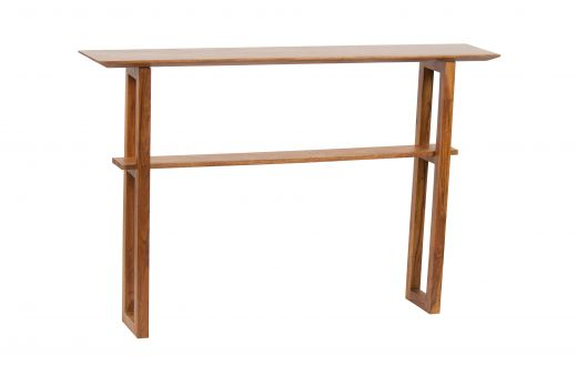 A-side sidetable hout bruin