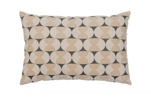 Pam kussen velvet/borduur sea salt 40x60cm
