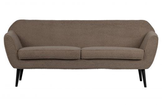 Rocco sofa 187 cm teddy clay
