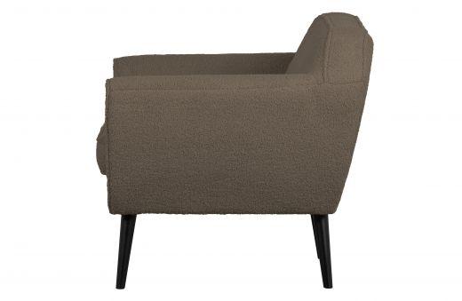 Rocco fauteuil teddy clay