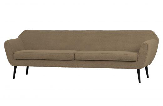 Rocco xl sofa 230 cm teddy clay